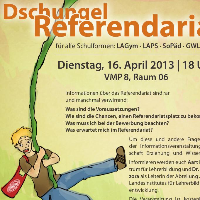 infoveranstaltung zum referendariat am dienstag den 16042013 um 18 uhr - Bewerbung Referendariat